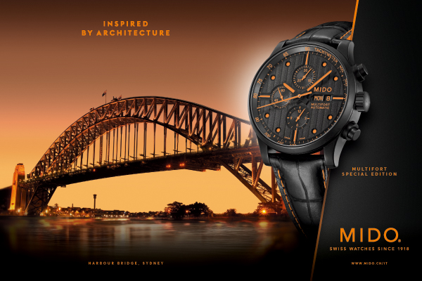 MIDO Swiss watch since 1914
