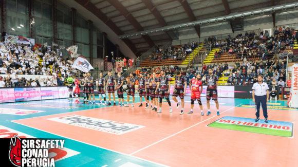 9ª Giornata SuperLega: Perugia-Molfetta