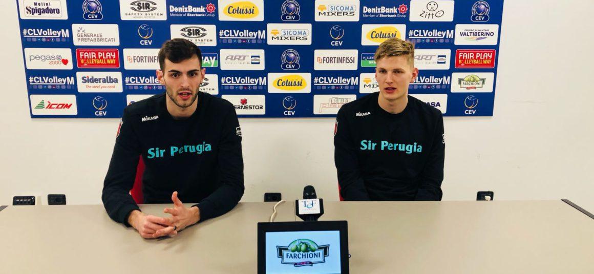 """Shaw e Russell: """"Il limite di Perugia è solo il cielo! Continuiamo a migliorarci day by day!"""""""