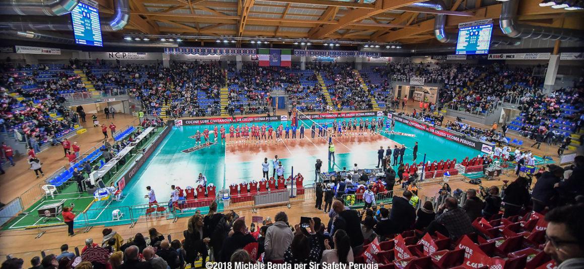 6ª giornata: Lube Civitanova – Sir Colussi Sicoma Perugia