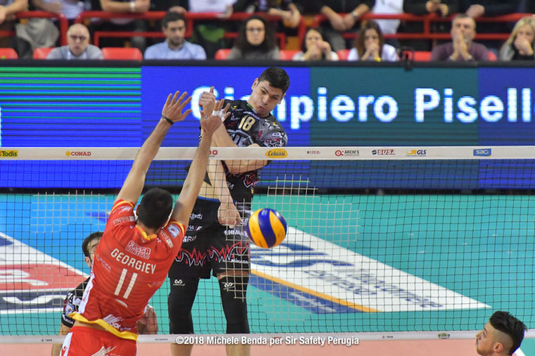BlockDevils, Campionato Italiano, Italian Championship, Marko PODRAŠČANIN, Marko Podrascanin, Maschile, Men's, PODRAŠČANIN.Marko, Pallavolo, Perugia, Serie A1M, Sir Safety, Sir Safety Conad Perugia, Stagione 2017-18, SuperLega, Volley, Volleyball, Марко Подрашчанин