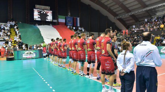 CHAMPIONS LEAGUE OFF, SUPERLEGA ON! SABATO C'È GARA 3 DI SEMIFINALE!