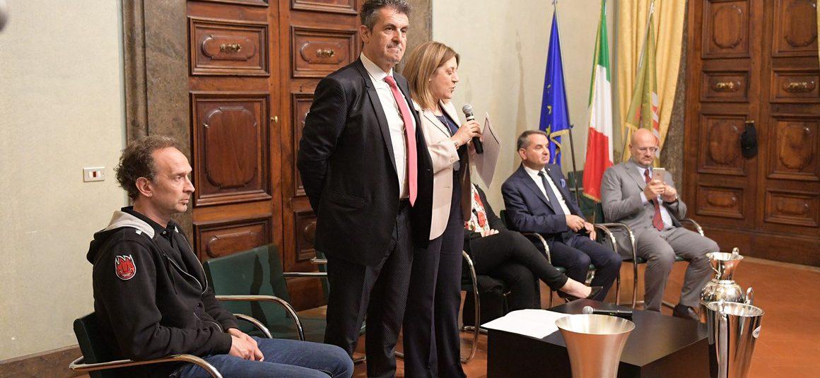 """BLOCK DEVILS ACCOLTI DALLE ISTITUZIONI PER CELEBRARE IL """"TRIPLETE""""!"""