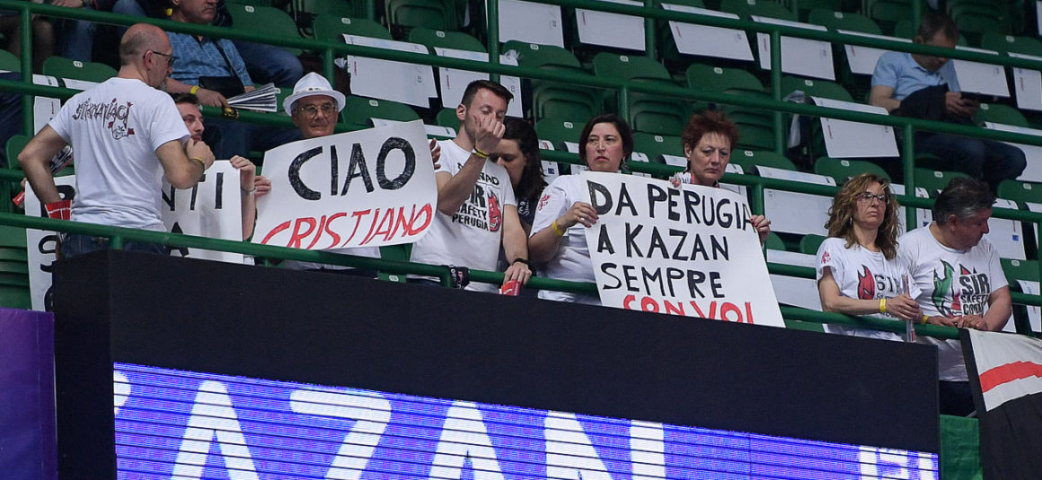 ClF4Kazan: Semifinale Perugia-Kazan