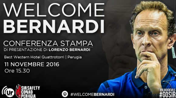 Lorenzo Bernardi new coach of the Block Devils