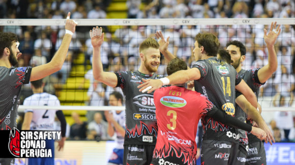 PERUGIA'S EUROPEAN LAW! ROESELARE DEFEATED 3-0!