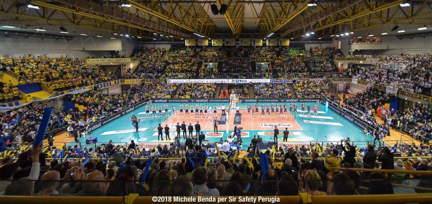 12ª giornata di ritorno: Azimut Modena – Sir Safety Conad Perugia