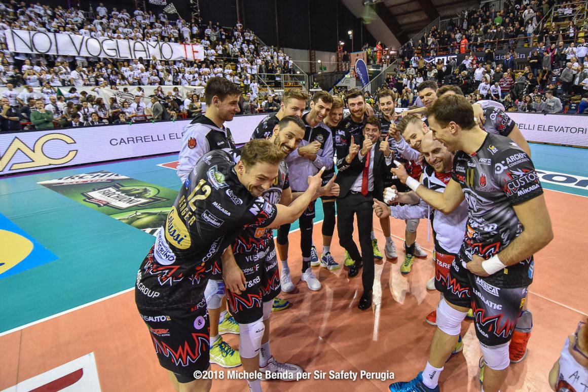 13ª giornata di ritorno: Sir Safety Conad Perugia – Bunge Ravenna