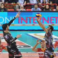 ANZANI.Simone, BlockDevils, Campionato Italiano, DE CECCO.Luciano, Italian Championship, Luciano DE CECCO, Maschile, Men's, Pallavolo, Perugia, Serie A1M, Simone ANZANI, Sir Safety, Sir Safety Conad Perugia, Stagione 2017-18, SuperLega, Volley, Volleyball