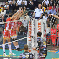 ATANASIJEVIĆ.Aleksandar, Aleksandar ATANASIJEVIĆ, Aleksandar Atanasijevic, BlockDevils, Campionato Italiano, Italian Championship, Magnum, Maschile, Men's, Pallavolo, Perugia, Serie A1M, Sir Safety, Sir Safety Conad Perugia, Stagione 2017-18, SuperLega, Volley, Volleyball, Александар Атанасијевић
